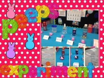 Looking for an awesome Science Experiment??  Check out the Peeps Science Experiment for all ages.