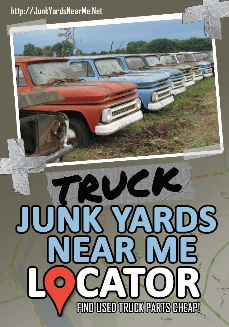 Truck Salvage Yards Near Me [Locator Map + Guide + FAQ