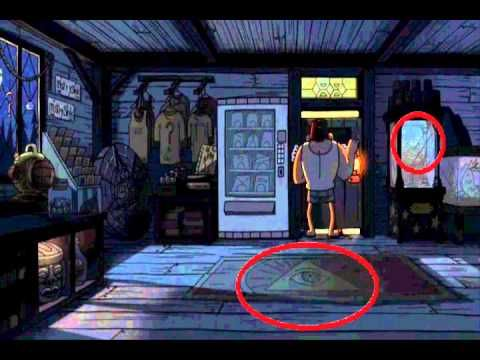 This is seriously creepy! I like Gravity Falls, so this is right up my alley. : )