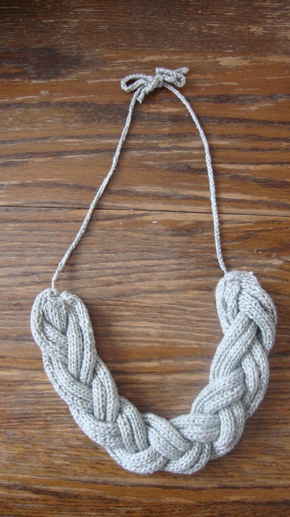 Knitting Jewelry Patterns : Best images about knitting jewelry etc on pinterest