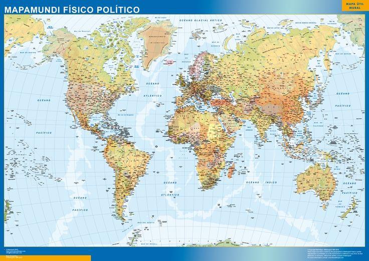 Ms de 25 ideas increbles sobre Mapamundi politico en Pinterest