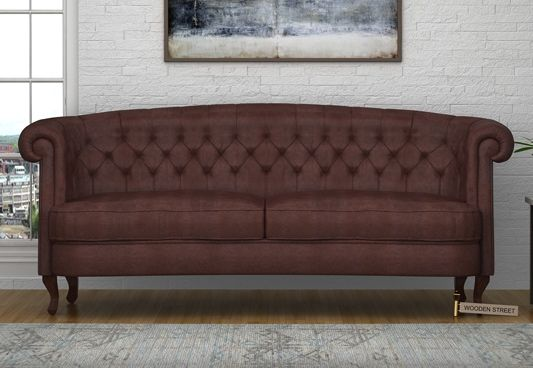 The Thunder 3 Seater Sofa in Leatherette, Dark Chocolate is a fascinating piece of three seater sofa. The grand size of sofa 3 seater offers nice seating option and resolve accomodation problem during gatherings to some extent. Get 3 seater sofa online #Bangalore #Jaipur #Kolkata