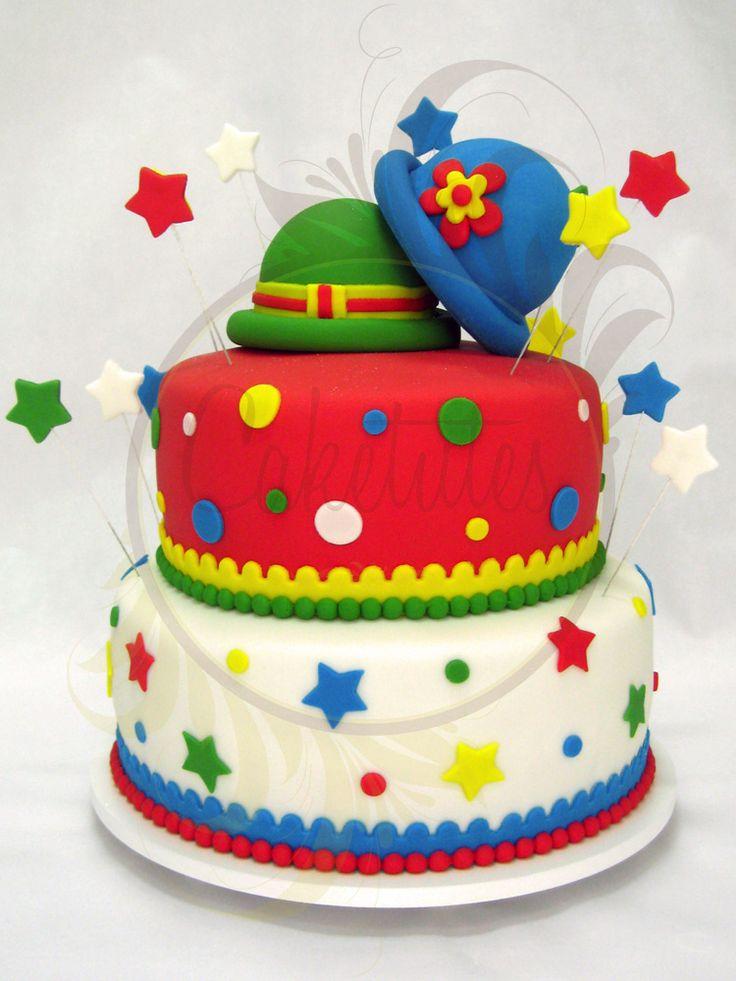 Caketutes Cake Designer: Bolo Patati Patata - ClownCake