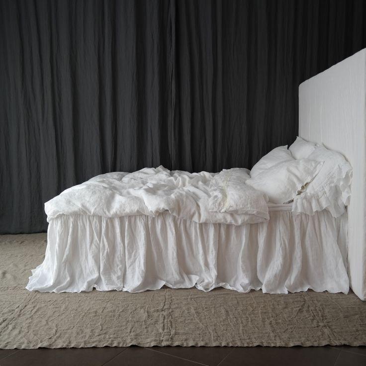 Oltre 25 fantastiche idee su biancheria da letto con - Mantovana letto ...