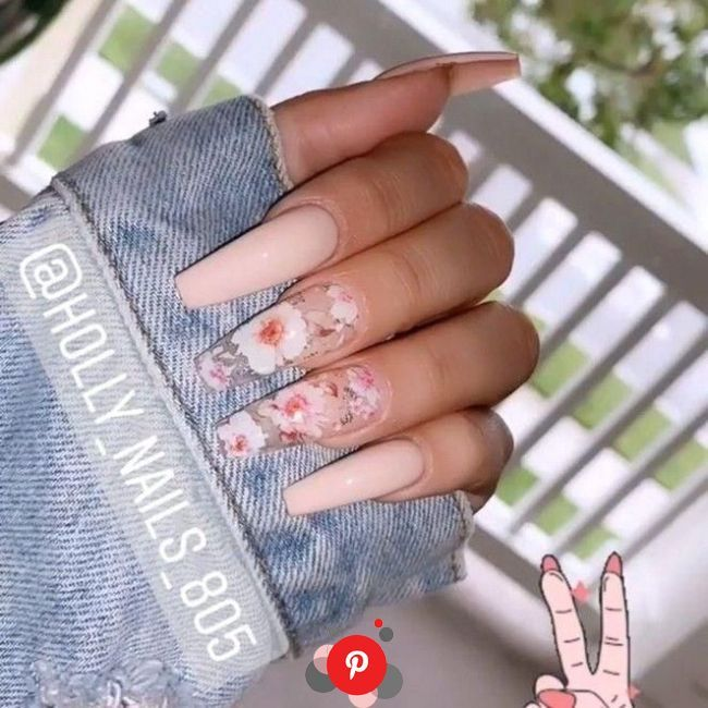 61 Top Coffin Nails Ideas For This Summer 2019 35 Elroystores Com Best Acrylic Nails Cute Acrylic Nails Glam N In 2020 Best Acrylic Nails Nail Designs Glam Nails