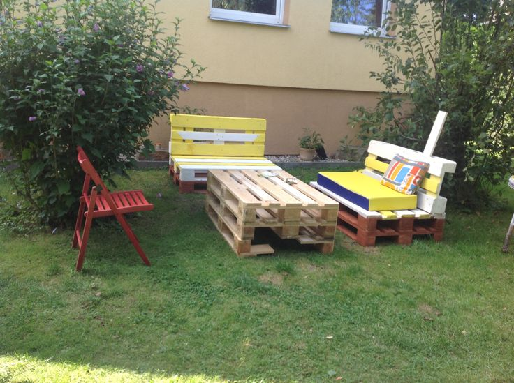 New furniture in my garden