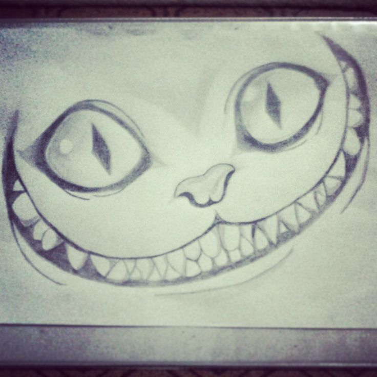 Cheshire Cat - Alice in Wonderland - Tim Burton