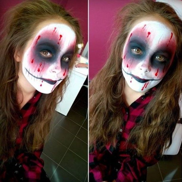 #facepainting#scary#makeup#Littlegirl