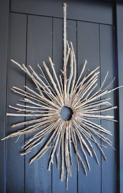 DIY - twig wreath