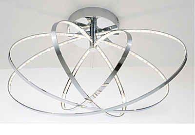 Trio Deckenleuchte, inkl. LED-Leuchtmittel, 4 flammig