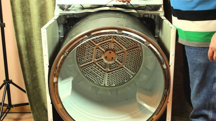 Ge dryer repair remove install belt dryer repair