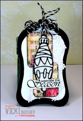 Tag by Vicki for the December TAGplorations Challenge - All About Christmas