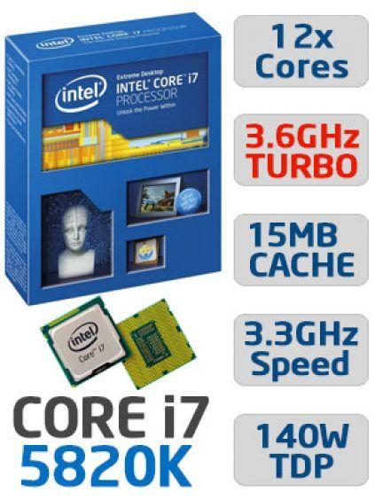 Processeur Intel Core i7 5820K à 359€ chez 3 marchands (Config-Gamer)