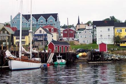 Lunenberg, Nova Scotia *** Discover a different side of Canada http://www.spectrumholidays.com.au/