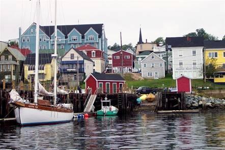 Lunenberg, Nova Scotia. Great walk, friendly people