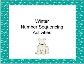 winter number activities 0 20 activities sequencing activities and winter. Black Bedroom Furniture Sets. Home Design Ideas