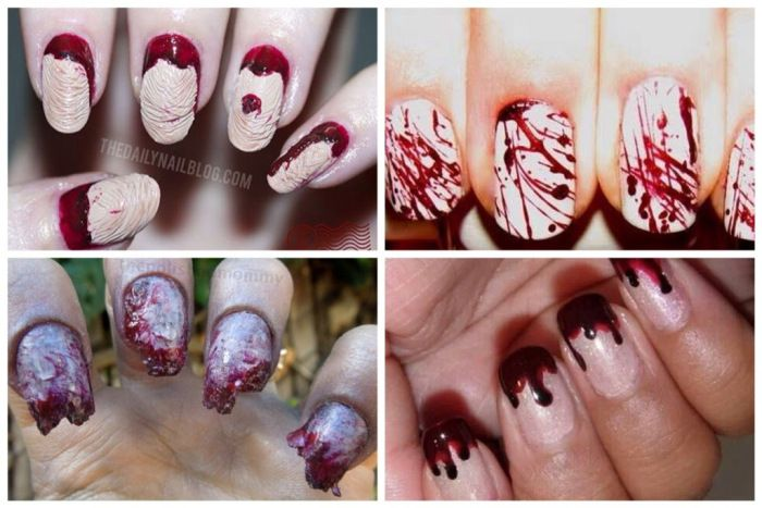 Various Halloween Nails
