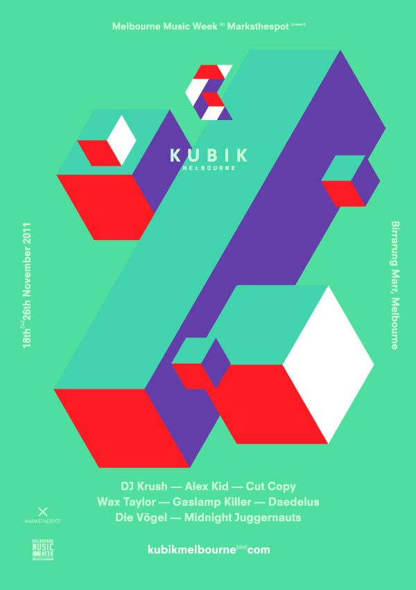 KUBIK Campaign - Poster Design by Simon Bent