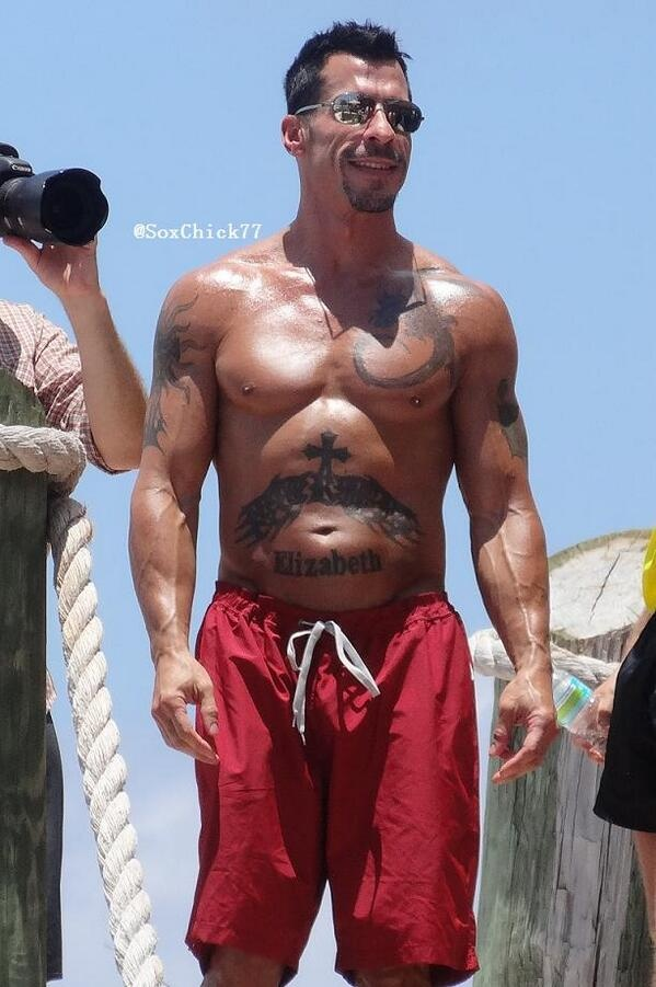 """Another Smokin' Hot @Danny Trinh Wood Pic! #HMC #NKOTBCruise2013""  Via @SoxChick77 on Twitter"