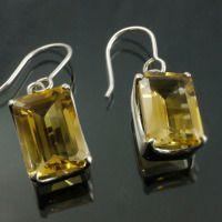 Citrine Earrings 1