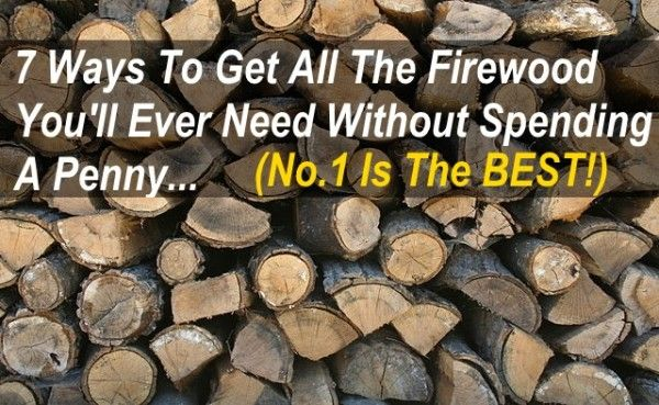 Free Firewood: Heat Your Home 100% For Free! (UPDATED)