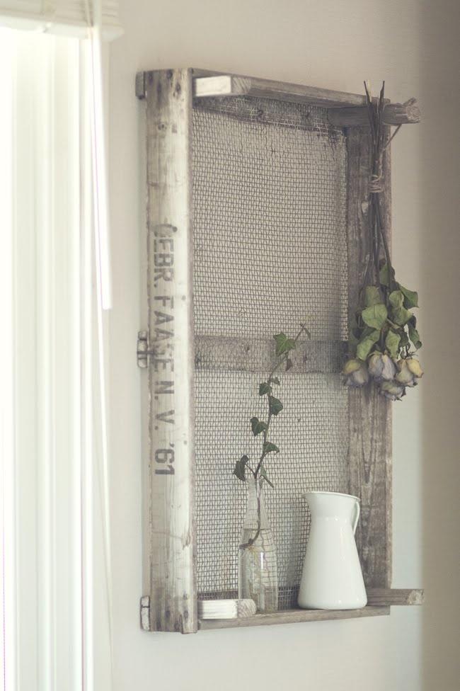 une cagette devient une belle tag re decoration pinterest belle search and decor. Black Bedroom Furniture Sets. Home Design Ideas