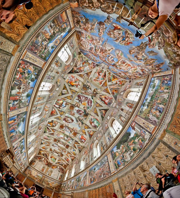 Sistine Chapel Ceiling - , Vatican City