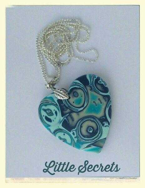 Heart pendant .
