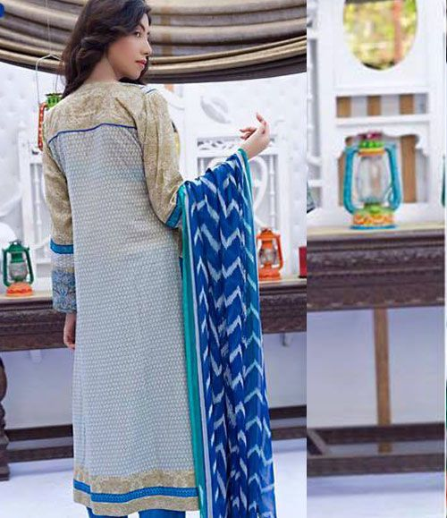 Abeeha By Rana Arts Embroidered Lawn Suits Collection EKR_572(B)
