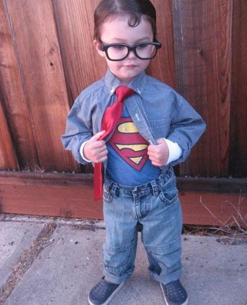 This Clark Kent Costume Will Work For Any Age Diy And