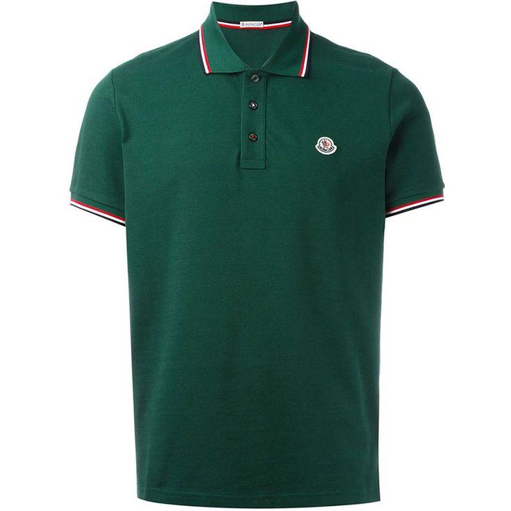 Moncler Polo Tişört Yeşil