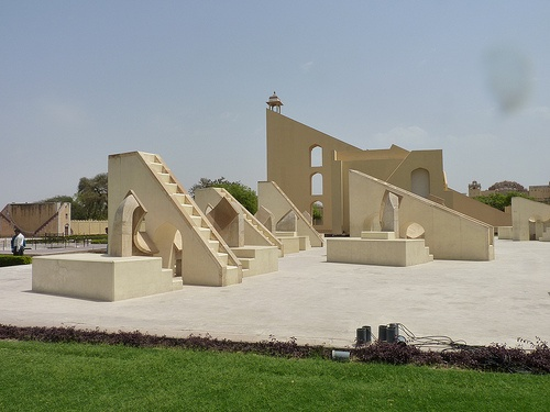 Jantar Mantar open air astronomical museum in Jaipur is centuries old but looks futuristic even today
