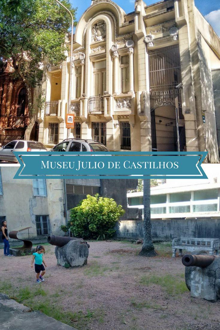 Conheça o Museu Julio de Castilhos no centro histórico de Porto Alegre.