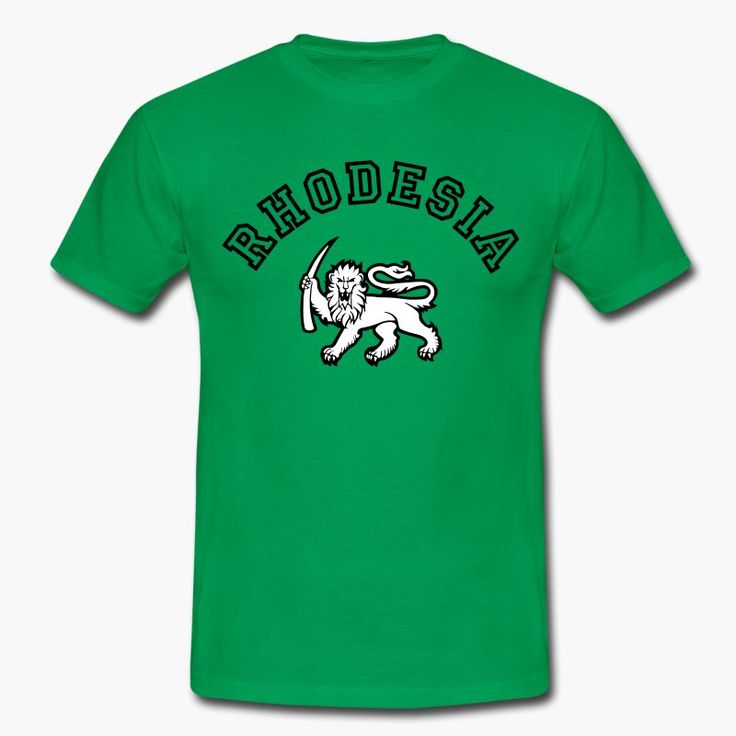 "Remember Rhodesia? Known as ""Zimbabwe"" nowadays. Keep the memory of Rhodesia alive! https://shop.spreadshirt.fi/revolt-noir/""rhodesia""-A106415914?appearance=92"