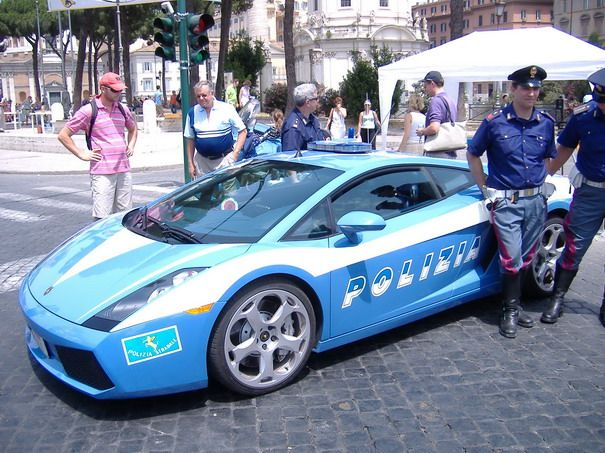 Italy: Lamborghini Gallardo. Bet you cant get away from this one!