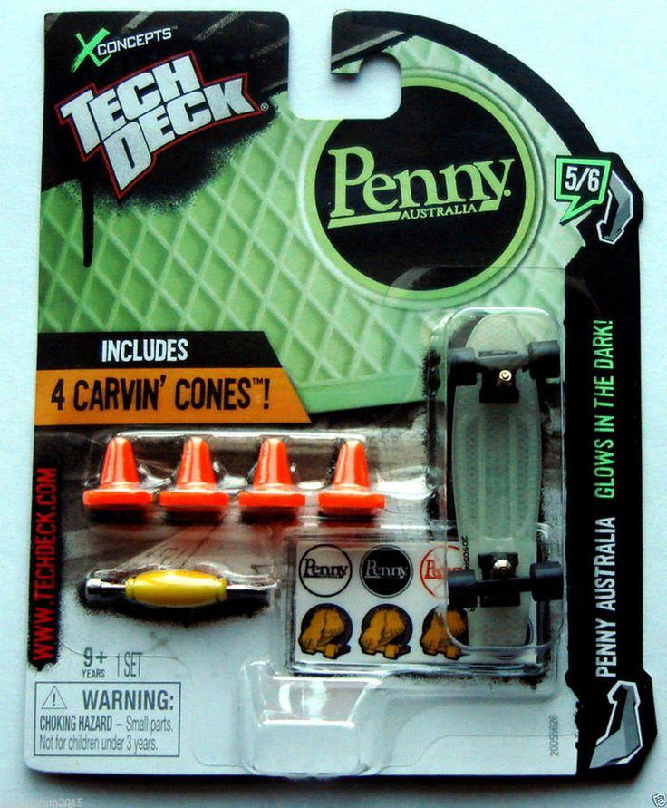"Tech Deck Penny Australia ""Glow in the Dark"" #SpinMasterTechDeck"