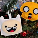 Step 0: Sew felt Adventure Time Finn & Jake ornaments