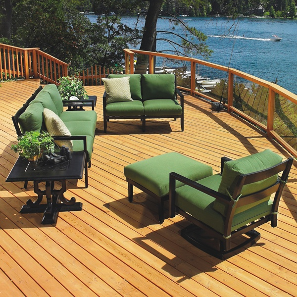 Seville Deep Seating Patio Set By Gensun
