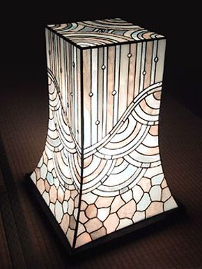 atelier SUETOMO|ランプ04|末友 章子のステンドグラス