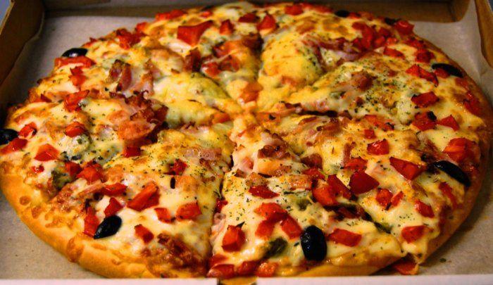 Пицца рецепт приготовления начинка