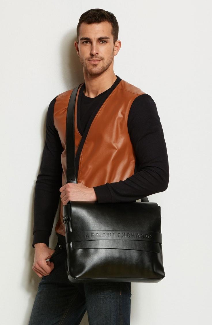#Armani Exchange A X City #Messenger #Bag for #Man - $98