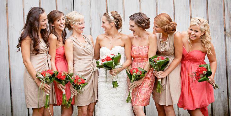 Fall Wedding Inspiration Beige: 29 Best Images About Coral And Beige Wedding Inspiration
