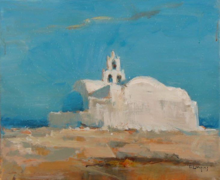 Tasos Dimos (acrylic on canvas)