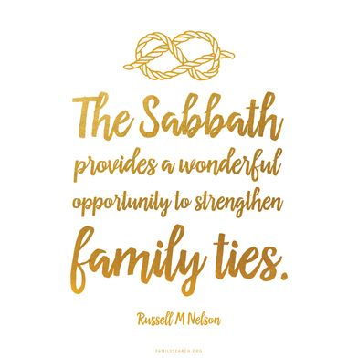 62 best lds family history inspiration images on pinterest family the sabbath provides a wonderful opportunity to strengthen family ties russell m publicscrutiny Gallery