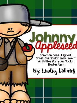 This collection of math and literacy activities will be the perfect add-on to your Johnny Appleseed unit! These activities will help you incorporate your study of Johnny Appleseed into your literacy and math blocks. All of the activities are little to no prep, and are directly tied to first grade math, writing, and reading standards.