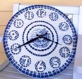 lovely mosaic clock