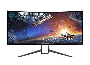 Top PC Monitor On The Market: Acer Predator 34-inch Curved UltraWide QHD (3440 x 1440) NVIDIA G-Sync Widescreen Display. *Click Image For Details*