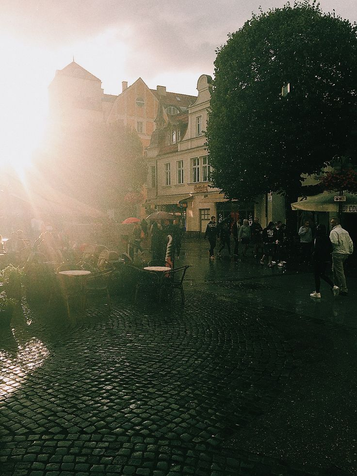 Deszcz w słońcu... ⛅️☔️