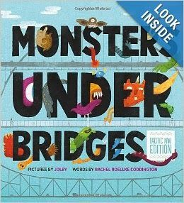 Monsters Under Bridges ~ Perfect Picture Book for STEM Activities