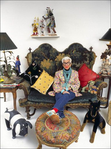 The most rockin' 90 year old fashion icon and my style hero, Iris Apfel